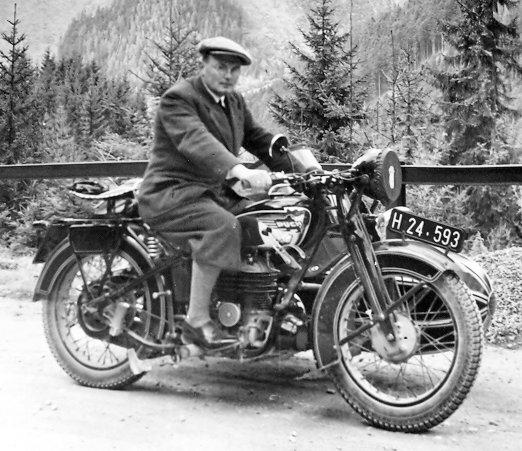 Puch 500 Baujahr 1937