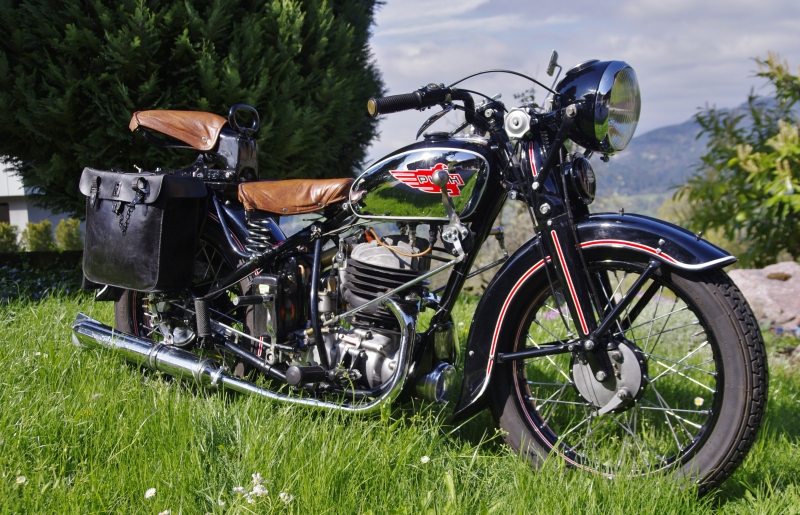 1939 Puch 350 GS Marzellin Tiefenthaler