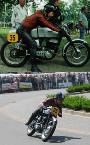1959 Puch_Bilder_Leo_Alewijnse_Holland_250SGS_racer_1959